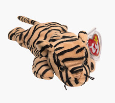 Ty Beanie Baby Stripes 1995 4th Gen Hang Tag 3rd Gen Tush Tag with Sticker PVC
