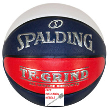 Spalding TF GRIND Indoor Outdoor All Surface Basketball - Red White Blue