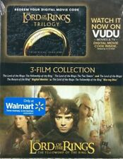 New ListingThe Lord Of The Rings 3-Film Collection Trilogy Digital + Fellowship On Blu-Ray