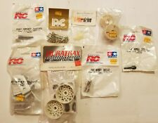 8 pc NEW in package! Vintage assorted Tamiya RC Car Parts                P2#51dr