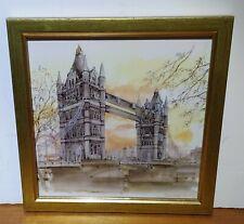 OLD London Tower Bridge Print Picture Souvenir