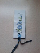 cross stitch bookmark  flowers design 2  Christmas Sale