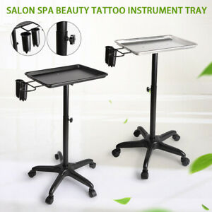 Professional Salon Trolley Aluminum Trolley Hair Instrument Tray With Caddy Sale