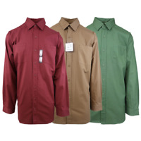 Carhartt Men's Red/Brown/Green L/S Woven Shirt XL-4XL (Retail $45)