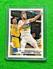NICOLO MELLI RATED ROOKIE CARD NEW ORLEANS PELICANS 2019-20 CHRONICLES DONRUSS