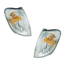 Corner Turn Signal Lights Pair Set for 98-00 Lexus LS400 Left & Right