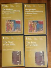 The Great Courses The Story Of The Bible & The Apocalypse Audio Books