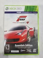 BRAND NEW Forza Motorsport 4 ESSENTIALS EDITION (Microsoft Xbox 360) GAME SEALED