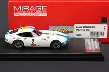 Toyota 2000GT (#2) 1967 Fuji 24 Hour  -- HPI #8818  RESIN 1/43