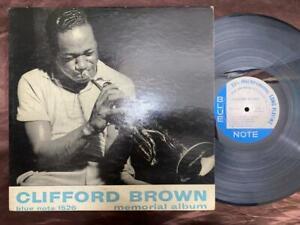 1ST CLIFFORD BROWN MEMORIAL BLUE NOTE LEX BLP 1526 RVG EAR DG FLAT 9M MONO US LP
