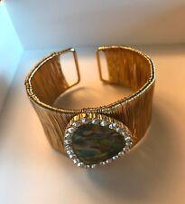 Bracelet Gold hued Exoctic Statement Women Girl