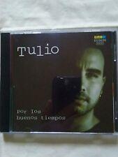 """TULIO SULUAGA """"POR LOS BUENOS TIEMPOS """"VALLENATO FROM COLOMBIA LATIN AUDIO CD"""