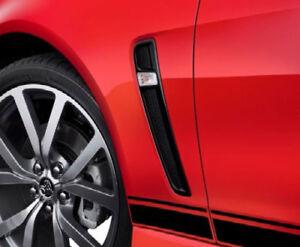 2014-2017 Chevy SS Sedan Black Fender Vents Holden VF OEM GM Lights PAIR