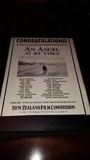 An Angel At My Table New Zealand Film Commission Rare Promo Poster Ad Framed!