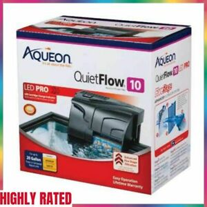 AQUARIUM POWER FILTERS Quietflow LED Indicator Pro Internal Pump Light AQUEON