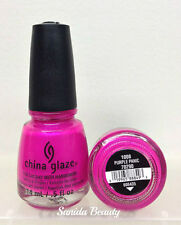 China Glaze Nail Lacquer- Nail Polish Collection Series 6 - Pick Any Color