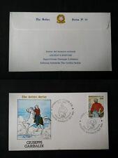 REPUBBLICA  BUSTA  FDC  1982 SERIE GOLD