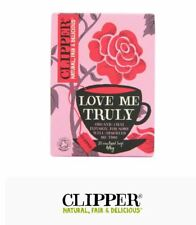 Clipper Organic Infusion Love Me Truly Chai Enveloped 20 Teabags 44 G (pack of