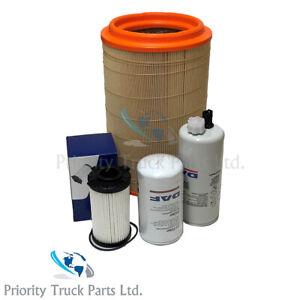 Genuine DAF LF45 Filter Service Kit Euro 5/6 Engine Oil, Fuel, Water, Air Filter