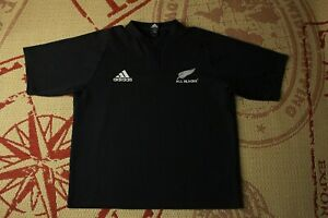 ALL BLACKS NEW ZEALAND 2003 2005 RUGBY HOME JERSEY SHIRT ADIDAS ORIGINAL SIZE XL