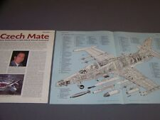 VINTAGE..AERO L-159A..DETAILS/CUTAWAY/3-VIEWS.. (319C)