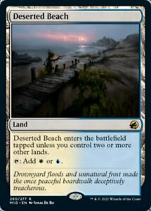 Deserted Beach - Innistrad: Midnight Hunt - RARE MtG Card
