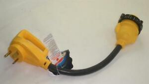 """Camco 55512 RV Power Grip Adapter 30 Amp 18"""" 23138"""