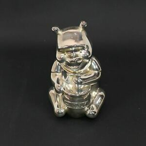 Winnie-the-Pooh Silver Money Box Collectable