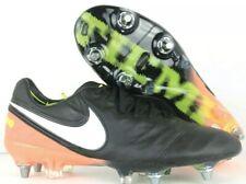 Nike Tiempo Legend VI 6 SG Pro Mens Black Soccer Cleats Size 6 819680-019 NEW