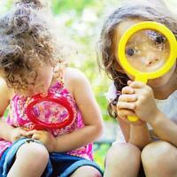 Baby Kids Magnifying Glass Learning Resources Educational Toy Gift NEW 6L