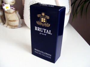 BRUTAL Grand vanilla and musk (eau de cologne, made in Poland, exclusive)