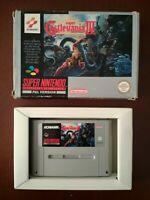Super Castlevania IV 4 SNES PAL (SNSP-AD-GPS) - Cartridge with box