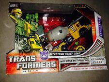 Transformers UNIVERSE Voyager DECEPTICON HEAVY LOAD Heavyload Classics New