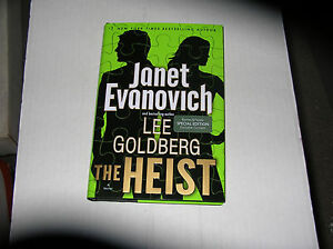 The Heist by Janet Evanovich & Lee Goldberg (2013) DOUBLE SIGNED 1st/1st