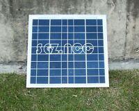 10w Solar Panel DIY Trickle Battery Charger Caravan Boat