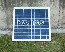 Solar Panel 12V 10W Watt polyCrystalline Cells poly solar module Battery Charger