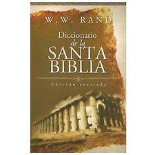 Diccionario de la Santa Biblia (Spanish Edition)-ExLibrary