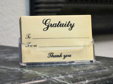 GRATUITY ENVELOPES Box of 200 - The ideal way to give and receive tips
