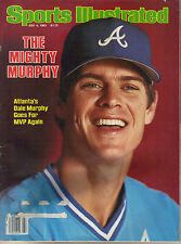 July 4, 1983 Sports Illustrated Dale Murphy Atlanta Braves Issue