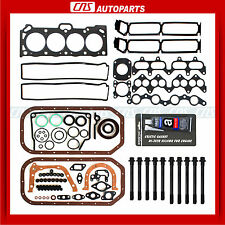 FULL GASKET BOLTS KIT GASKET SILICONE 4AGE Fits 85-89 TOYOTA COROLLA GTS MR2