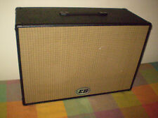 "EB 2 x 12"" guitar speaker cabinet loaded Vintage 30 and Cannabis Rex Speakers"