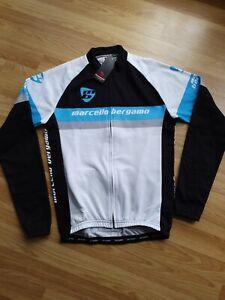 Mens long sleeve cycling jersey Medium