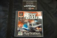 world's scariest police chase  PS1 PAL  playstation 1 sony gioco con istruzioni