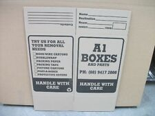 Packing Boxes Perth - 10 x New Heavy Duty Tea Chest Carton - 110 lt capacity