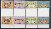 Kiribati 1980 Moths Sc 356-359Gutter pairs complete mint never hinged
