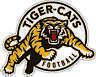 "Hamilton Tiger-Cats CFL Football bumper sticker, window decor vinyl decal, 5""x4"""