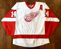 Brendan Shanahan #14 Vintage CCM Detroit Red Wings Hockey Jersey Size XL 90s