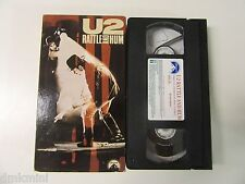 U2 RATTLE and HUM _ 1988 VHS hi-fi Stereo Video _ Contains 11 Songs Not On Album