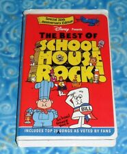 The Best of School House Rock Disney VHS Video Tape Excellent Tested Condition