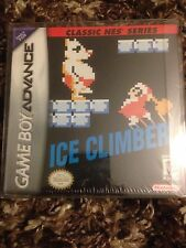Game Boy Advance Ice Climber Sealed New